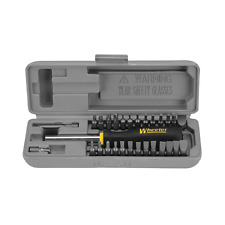Screwdriver Set Space Saver,Bench, Gunsmith, Hex,Torx Magnetic Handle, 26 Bits