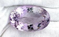 105 Carat Natural Checkerboard Oval Rose De France Amethyst Gemstone Gem ES531