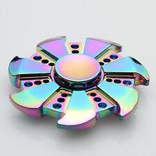 Special Gear Rainbow EDC Fidget Hand Spinner Torqbar ADHD Autism Finger Toys DS0
