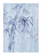 Bamboo Leaves I Fung Ping Art Print Poster 11.75x11.75