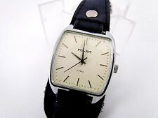 Vintage Dress style Soviet POLJOT mechanical Wrist Watch 17 Jewels white