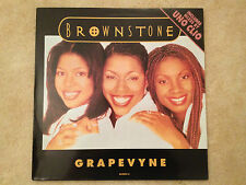 "BROWNSTONE ""Grapevyne"" 1994 US 12"" Vinyl (MJJ Record Label) EXC/NM"