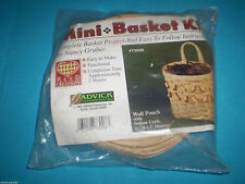 1992 Nip Mini Basket Kit Wall Pouch with Indian Curls Reed Creations by Jadvick