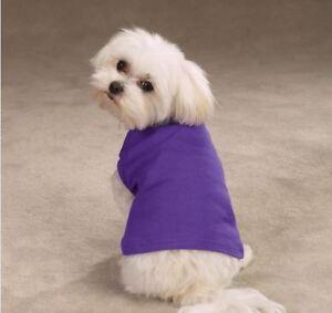 Dog Tank Top Shirt  violet orange  blue red green NEW