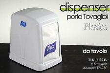 DISPENSER PORTA TOVAGLIOLI IN PLASTICA DA TAVOLO BAR TIZ-613043