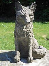 Stone Fox Garden Statue