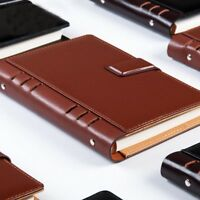 2018 Planner Ring Binder Notebook Filofax a5 a6 B5 Vintage Book Spiral Notebook