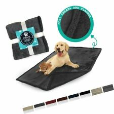 Premium Plush Soft Sherpa Pet Dog Blanket by PetAmi | Cozy Comfortable Ideal for