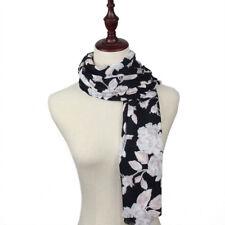 Châles/écharpe à motif Floral pour femme, en 100% coton