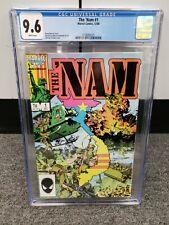 1986 Marvel Comics THE NAM Issue #1 Doug Murray CGC 9.6