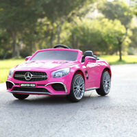 12V Mercedes Benz Kids Ride On Car Battery Powered W/ Remote Control MP3 Rosy