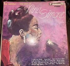 NINA SIMONE THE ORIGINAL AND BEST OF LITTLE GIRL BLUE BETHLEHEM BCP 6028 Stereo