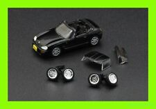 JUN 2021 Suzuki 1998 Cappuccino BLACK 1/64 BM Creations Diecastl Car + Wheel