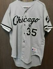 """Chicago White Sox """"Frank Thomas #35"""" Rawlings Vintage Jersey Size 48"""