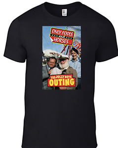 Only Fools and Horses T-shirt JOLLY BOYS OUTING Del Boy BBC TV British funny B