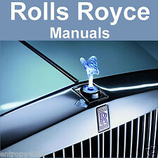 Rolls Royce Silver Cloud 1, 2, 3 Phantom V Bentley S S2 S3 SERVICE -6- MANUALS