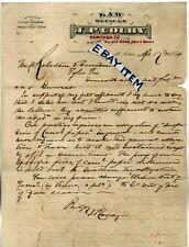 1874 ST. LOUIS MISSOURI letterhead J. P. COLBY Lawyer attorney LAW OFFICE letter