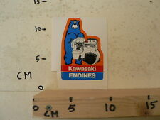STICKER,DECAL KAWASAKI ENGINES FA210D  STATIONAIRE MOTOR ? GENERATOR ? BEER