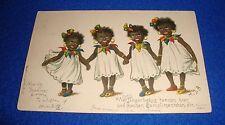 Vintage Black Americana Postcard Used Made in Germany