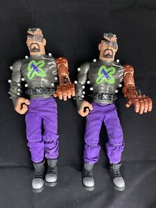 Dr X (Doctor X) 2x Action Man Toys with Clothes & Boots