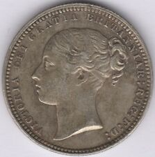 More details for 1868 die number 4 victoria one shilling | british coins | pennies2pounds