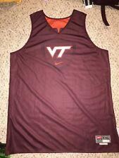 Nike Virginia Tech Hokies Basketball #33 Marshall Wood Practice Jersey *XXL*