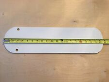 "Vintage HUNTER White Ceiling Fan Blades - 20-5/8"" Long Blade (25262 52"" Model)"