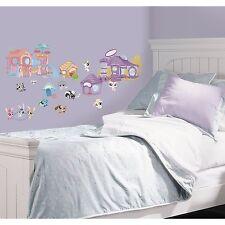 Littlest Pet Shop Cute Wall Decal Sticker Decor Applique Nursery Room wallpaper