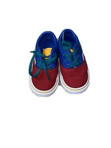VANS Toddler Sz 4  Multi-Color NEW Rare Never Used No Box