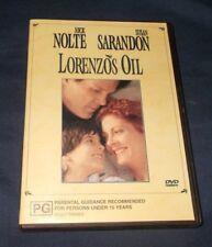 LORENZOS OIL DVD REGION 4 & 2 VGC NICK NOLTE SUSAN SARANDON