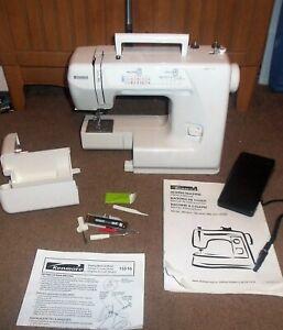 Vintage Kenmore Sewing Machine 15516 & Foot Pedal (AS IS PARTS OR REPAIR)