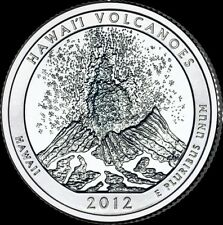 Uncirculated 2012 Hawaii Volvcanoes S Am Bea Quarter Roll from Bag or Bank BU