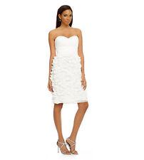 JS Collection Strapless 100% Silk Dress NWT 2