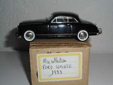 FORD COMÈTE   1953 MA COLLECTION  C BRIANZA 1/43 résine  vintage