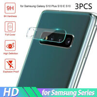 3Pcs HD Camera Tempered Glass Protector for Samsung Galaxy S9 S8 S10 Plus Fashio