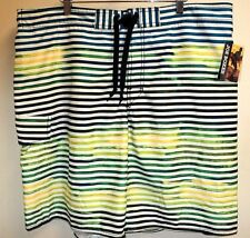 JOE BOXER NEW w TAGS Striped Board Surf Shorts XL Authentic