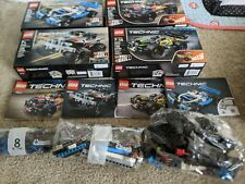 Lego Technic 42072-42073-42090-42091 Whack!-Bash!-Getaway Truck-Police Pursuit