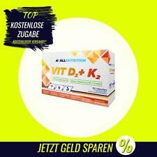 AllNutrition - Vitamin D3+K2 - 30 Kapseln - Mineralstoffe, Vitamine, Caps B2
