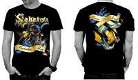 SABATON Official Merchandise TShirt Carolus Rex Born To Rule Alle Größe All Size