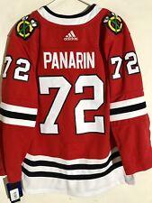 adidas Authentic NHL ADIZERO Jersey Chicago Blackhawks Artemi Panarin Red  sz 60 678b9c864