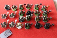 Games Workshop Warhammer 40k Goff Orks Ork Part Painted x22 Army Lot Squads GW