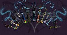 POSTER KINGDOM HEARTS 2 3 BIRTH BY SLEEP 2.5 2.8 3 AQUA SORA ROXAS GAME PS3 #8