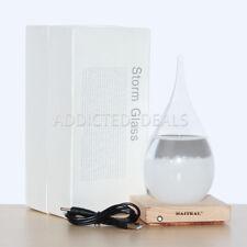 Storm Glass Desktop Drops Craft Bottle Barometer Lamp Home Desk decoration Gift