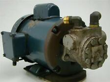 High Pressure Pump with Franklin Electric Motor 4111020101 | 1/4 HP 115/230V