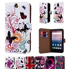 32nd Design Book PU Leather Case Cover For Alcatel Pixi 4 + Screen Protector