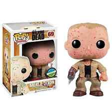 Funko POP The Walking Dead Merle Dixon Blood Splattered Convention Exclusive