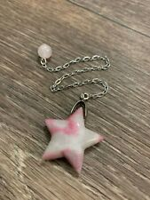 Pendulum Star Sodalite Pink