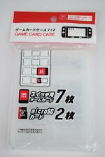 Izumi MicroSD Game Card Case for Nintendo Switch Games and SD Cards