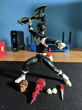 Power Rangers Lightning Collection MMPR Black Ranger Zack - Loose Complete