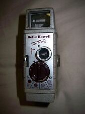 "VINTAGE 8 mm BELL & HOWELL ""2-20"" 8 MM MOVIE CAMERA AND LEATHER CASE"